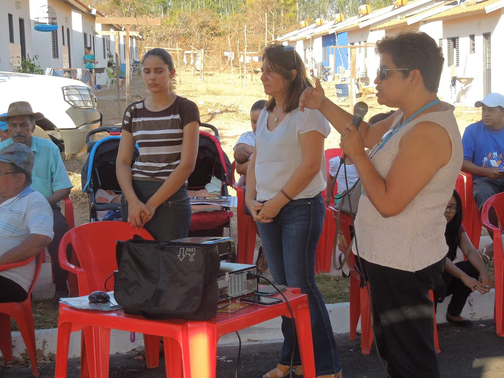 A  enfermeira Leliane Barbosa, da Funasa, realçou a importância do evento