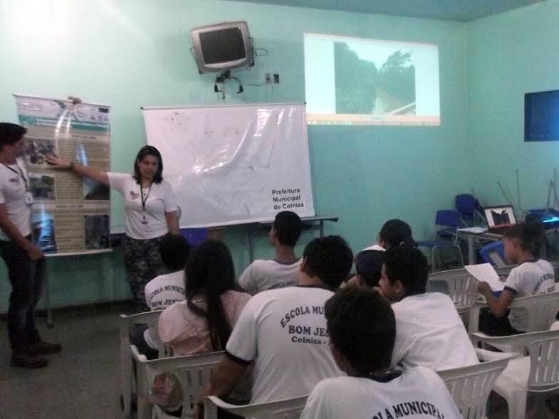 A equipe do PMSB explicou os passos da elaboração do PMSB