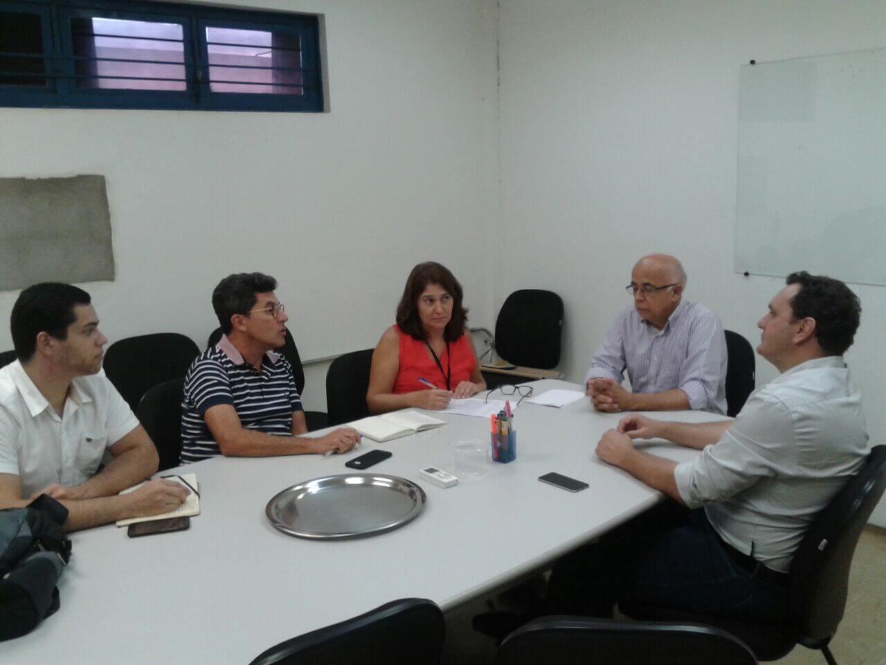 Leonardo Zancheta, secretário de Cidades de Sorriso reuniu-se com