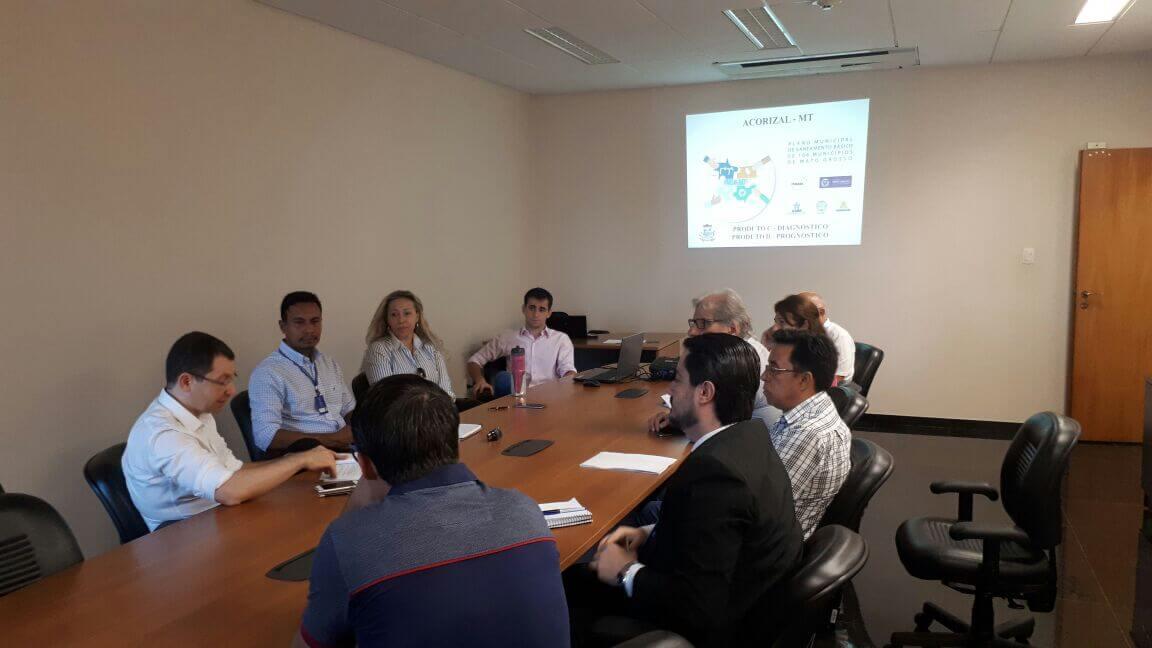 Reunião em Acorizal definiu participação do Ministério Público nas ações do PMSB 106.