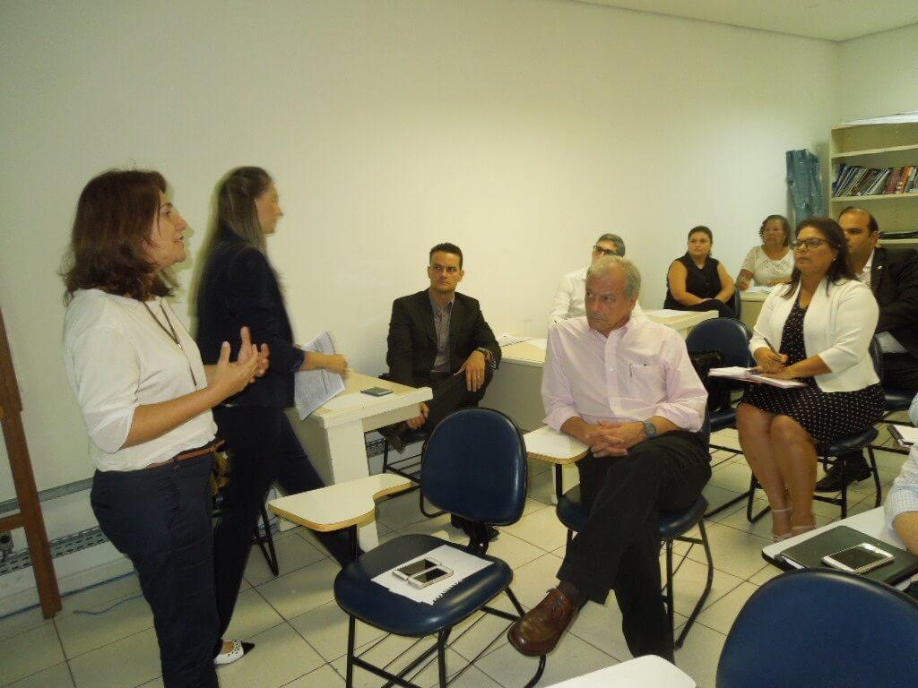 A professora Eliana falou sobre os 20 meses do projeto.
