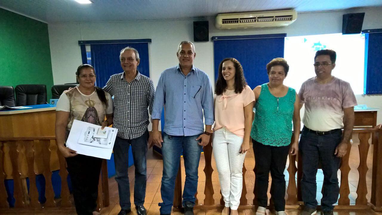 Maria Aparecida, Paulo Modesto Filho, Jossimar, Cleide Santana, Leliane Barbosa e Frederico P. da Silva.