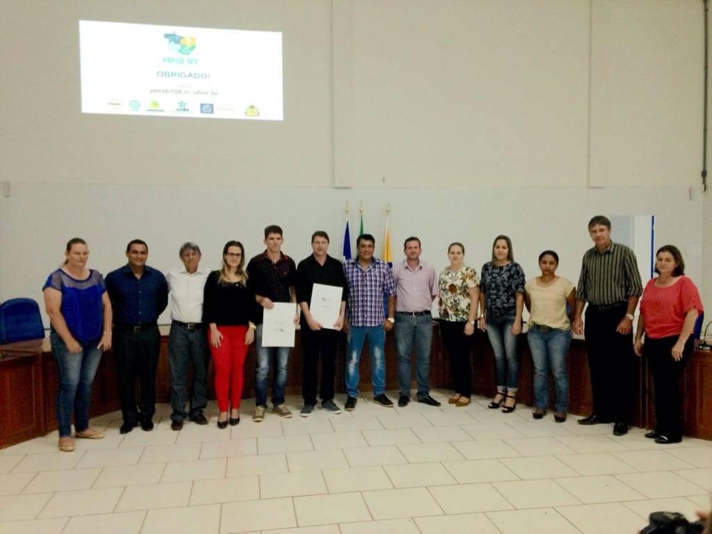Itanhangá recebeu o PMSB em Conferência do PMSB.