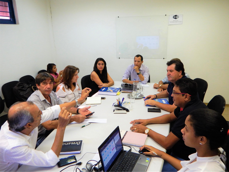 Município discutiu com equipe do PMSB detalhes do trabalho